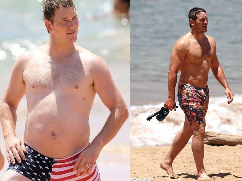 Chris Pratt weight loss