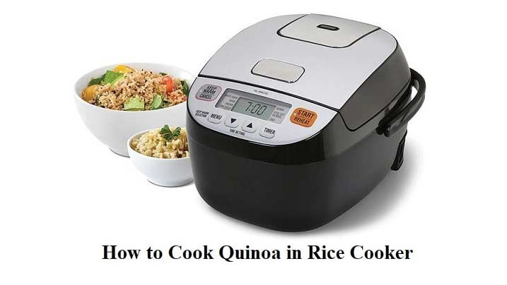 how to cook quinoa in rice cooker
