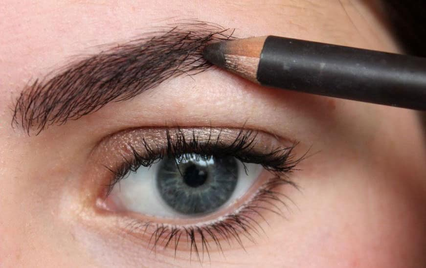 how to shade eyebrows