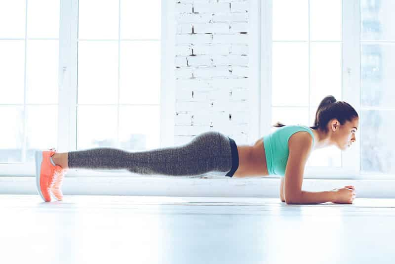 plank exercise belly fat